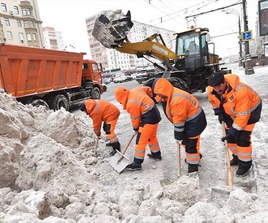 Уборка снега в Нижнем Новгороде и Нижегородской области