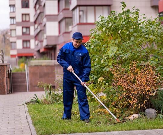 Уборка территории в Нижнем Новгороде и Нижегородской области